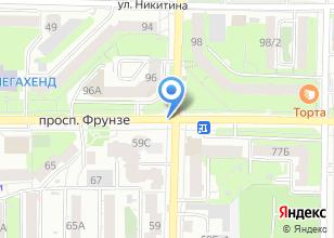 """Компания «Ритуальная служба """"Рябина""""» на карте"""