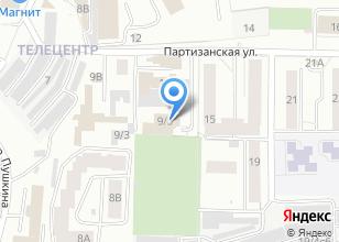 Компания «АвтоЗона» на карте