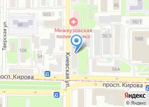 Компания «Вэбсайтинг» на карте