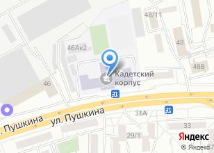 Компания «Томский кадетский корпус» на карте