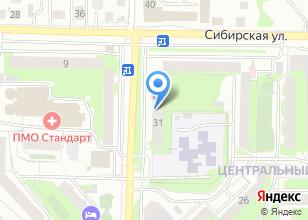 Компания «Сибирская клиника» на карте