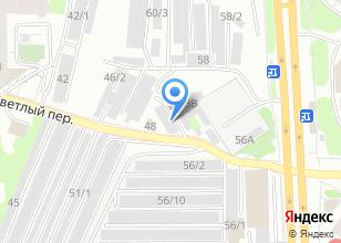 Компания «Автоэлектрик+» на карте