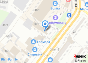 Компания «Техмастер» на карте