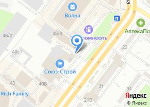 Компания «Катод» на карте