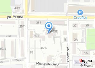 Компания «Усова 25в» на карте