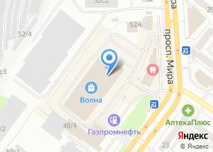 Компания «Почта России» на карте