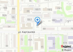 Компания «Томский техникум водного транспорта и судоходства» на карте