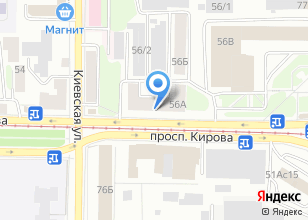 Компания «Общежитие ТУСУР» на карте