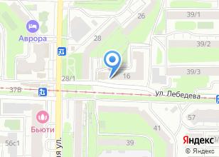 Компания «Megacom» на карте