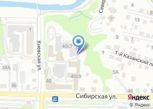 Компания «Артель. Томские столяры» на карте