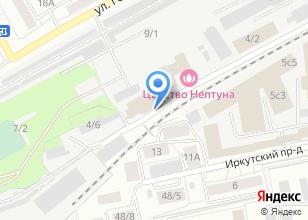 Компания «ИСС» на карте
