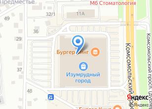 Компания «NYX» на карте