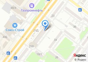 Компания «Фазза» на карте