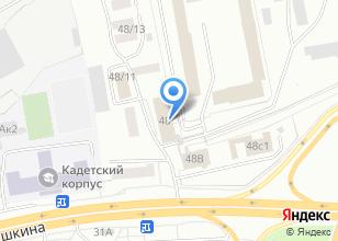 Компания «Следственный изолятор-1 УФСИН России по Томской области» на карте