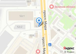 Компания «Суши лайк» на карте