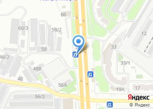 Компания «Автостекло» на карте