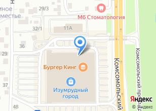 Компания «Ресто Экспресс» на карте