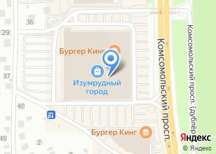 Компания «Yves Rocher» на карте