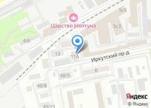 Компания «Фарфор» на карте