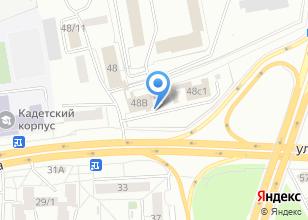 Компания «УФСИН России по Томской области» на карте