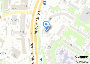 Компания «Я» на карте