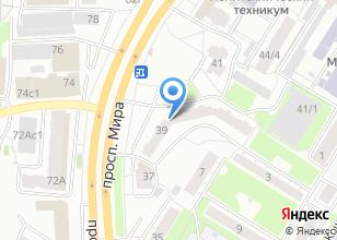 Компания «Мира 39» на карте