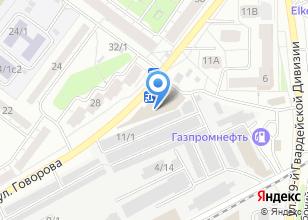 Компания «Аво Электроникс» на карте