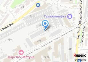 Компания «Rush Garage» на карте