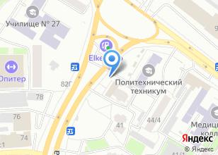 Компания «ЧиК» на карте