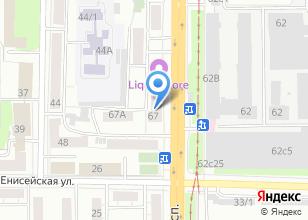 Компания «Советская» на карте
