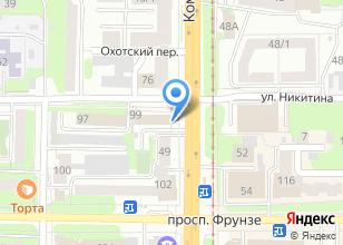 Компания «Томскгеомониторинг» на карте