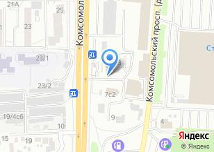 Компания «Кафе домашней кухни» на карте