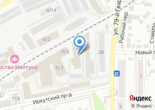 Компания «Тайм» на карте