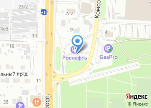 Компания «Томскнефтепродукт» на карте