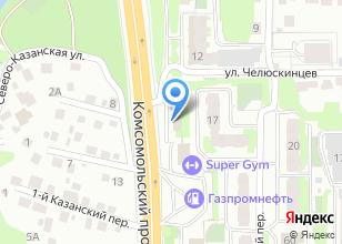 Компания «Сибирские Инновационные Системы» на карте