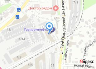 Компания «ДЭУ Энертек Томск» на карте