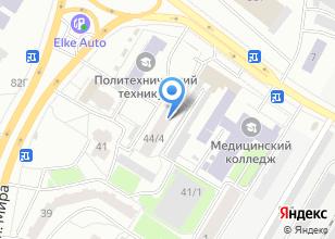 Компания «Томский политехнический техникум» на карте