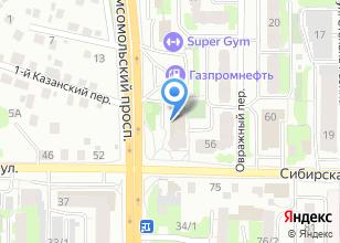 Компания «Автобарон» на карте