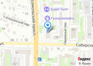 Компания «Оптика №1» на карте