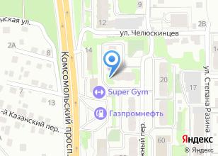 Компания «Уют ТДСК» на карте
