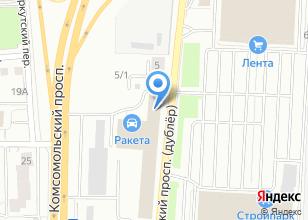 Компания «Мир BMW» на карте