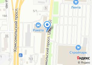 Компания «MARKA ванны & мебель» на карте