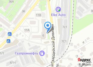 Компания «Доктор рядом» на карте