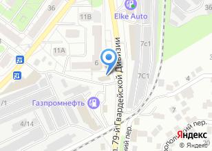 Компания «Мойдодыр» на карте