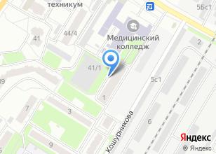 Компания «Томский индустриальный техникум» на карте