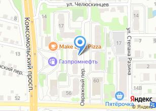 Компания «ПРО СУШИ» на карте