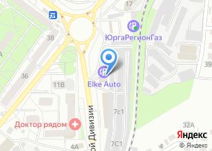 Компания «Каштачный» на карте