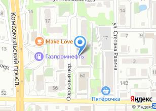 Компания «Служба по отогреву автомобилей» на карте