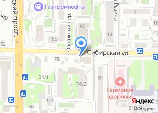 Компания «Мотоблоки на Сибирской» на карте