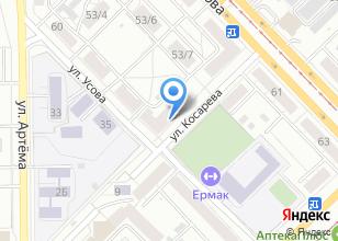 Компания «Томский Цирюльник» на карте